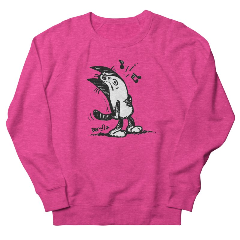 Whistle Proudly Women's French Terry Sweatshirt by Fuzzy Poet's Artist Shop