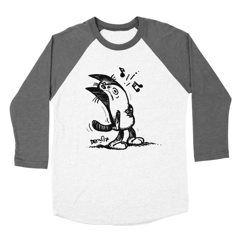 Whistle Proudly Men's Baseball Triblend Longsleeve T-Shirt by Fuzzy Poet's Artist Shop