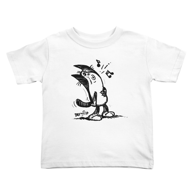 Whistle Proudly Kids Toddler T-Shirt by Fuzzy Poet's Artist Shop