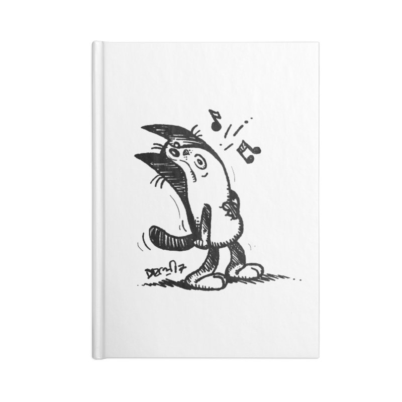Whistle Proudly Accessories Blank Journal Notebook by Fuzzy Poet's Artist Shop
