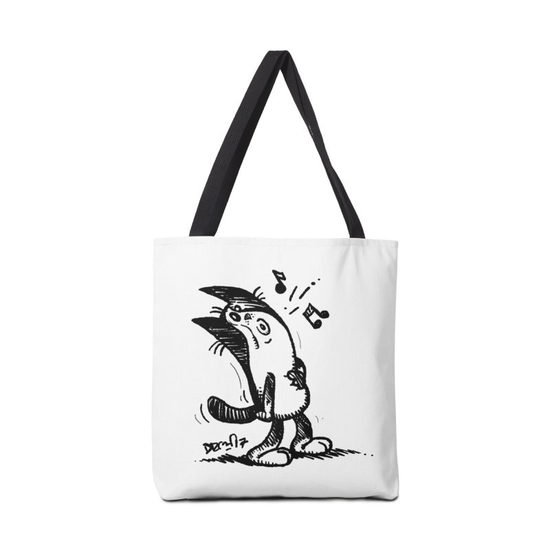 Whistle Proudly Accessories Tote Bag Bag by Fuzzy Poet's Artist Shop