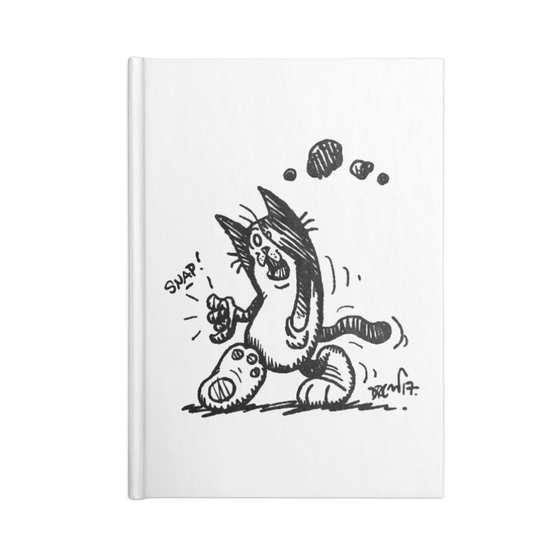 Snappy and Stylish Accessories Blank Journal Notebook by Fuzzy Poet's Artist Shop