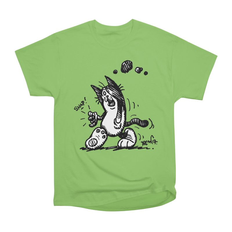 Snappy and Stylish Men's Heavyweight T-Shirt by Fuzzy Poet's Artist Shop