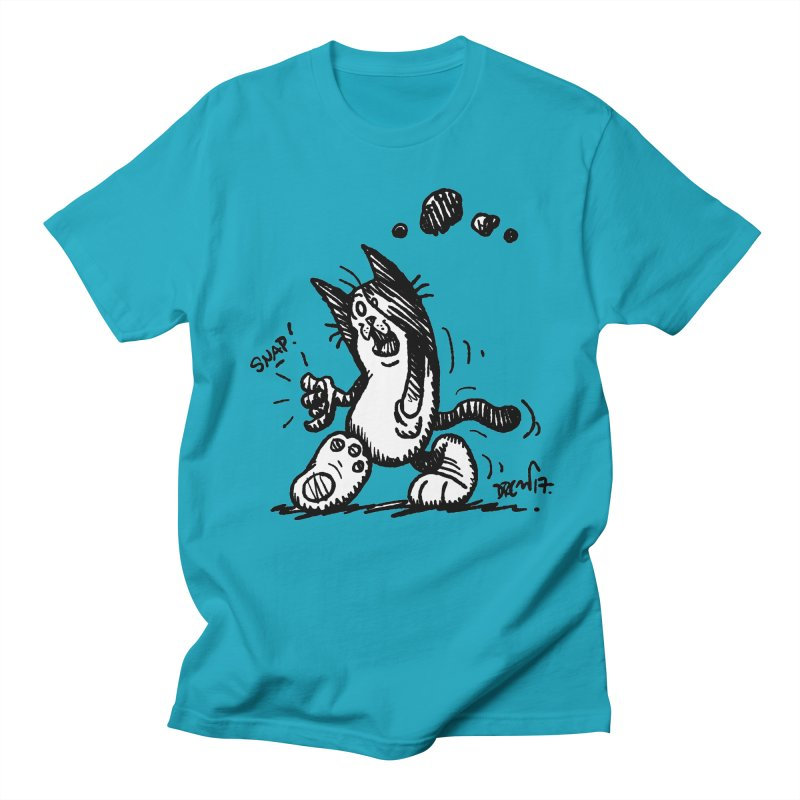 Snappy and Stylish Men's Regular T-Shirt by Fuzzy Poet's Artist Shop