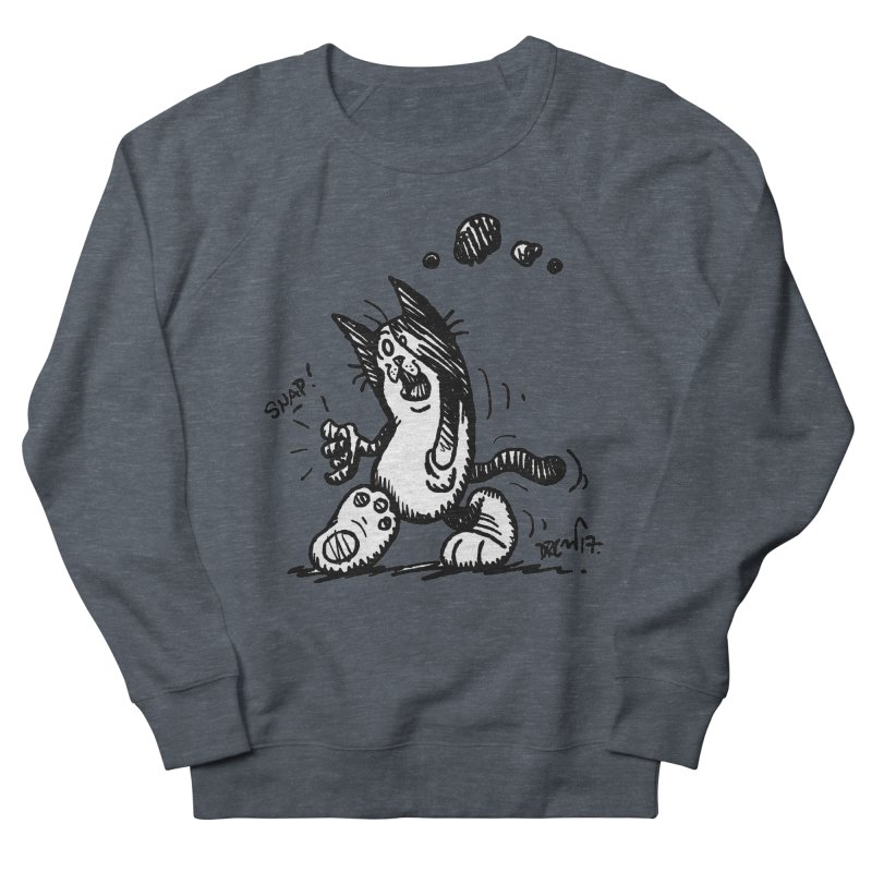 Snappy and Stylish Women's French Terry Sweatshirt by Fuzzy Poet's Artist Shop