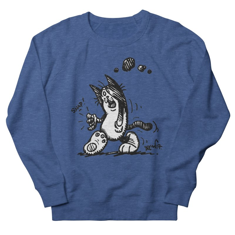 Snappy and Stylish Men's Sweatshirt by Sophisticated Lowbrow Art For The Discerning Masse