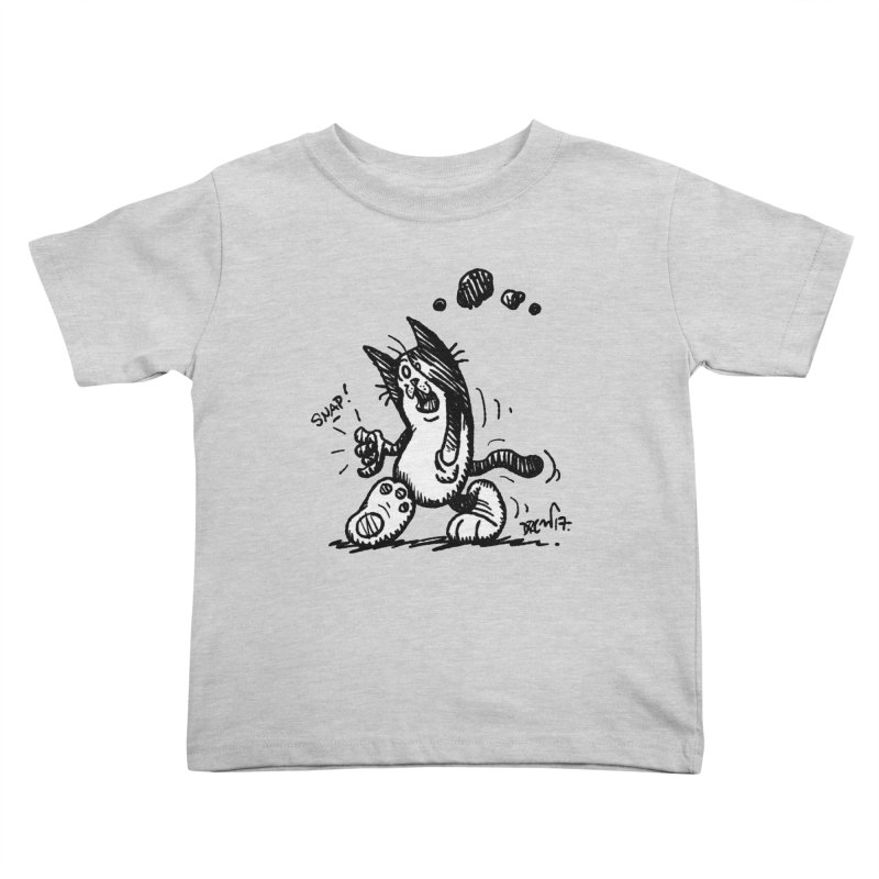 Snappy and Stylish Kids Toddler T-Shirt by Fuzzy Poet's Artist Shop