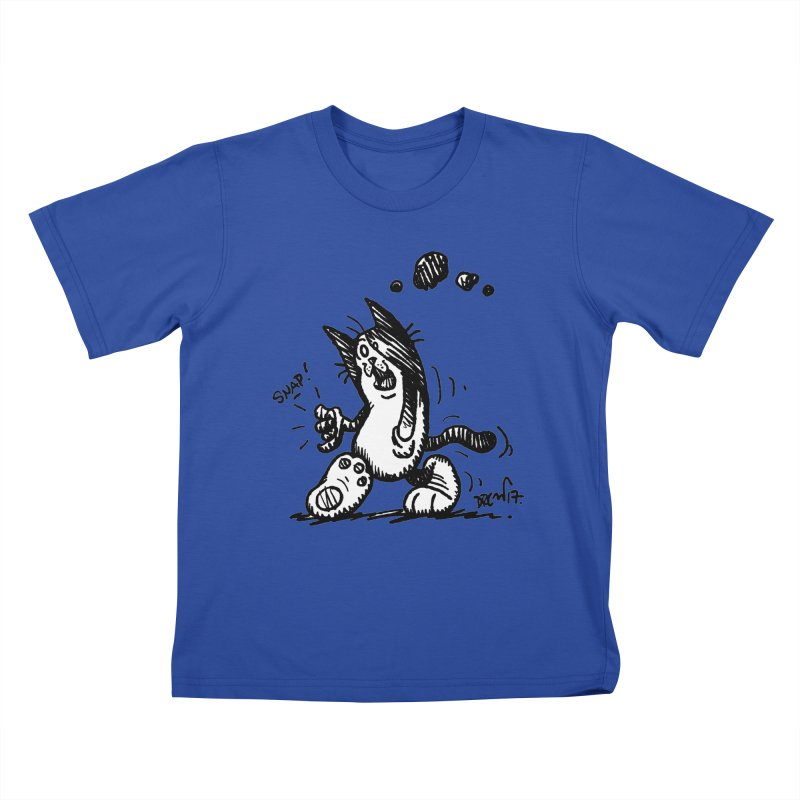 Snappy and Stylish Kids T-Shirt by Fuzzy Poet's Artist Shop