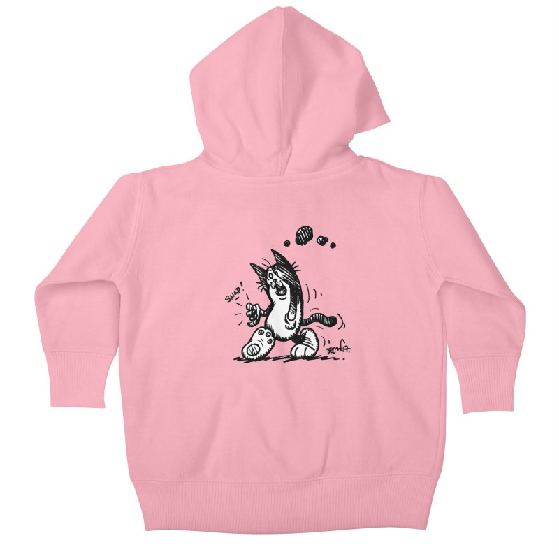 Snappy and Stylish Kids Baby Zip-Up Hoody by Fuzzy Poet's Artist Shop