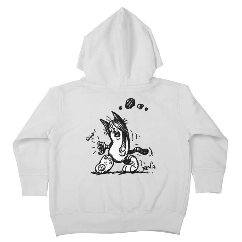 Snappy and Stylish Kids Toddler Zip-Up Hoody by Fuzzy Poet's Artist Shop