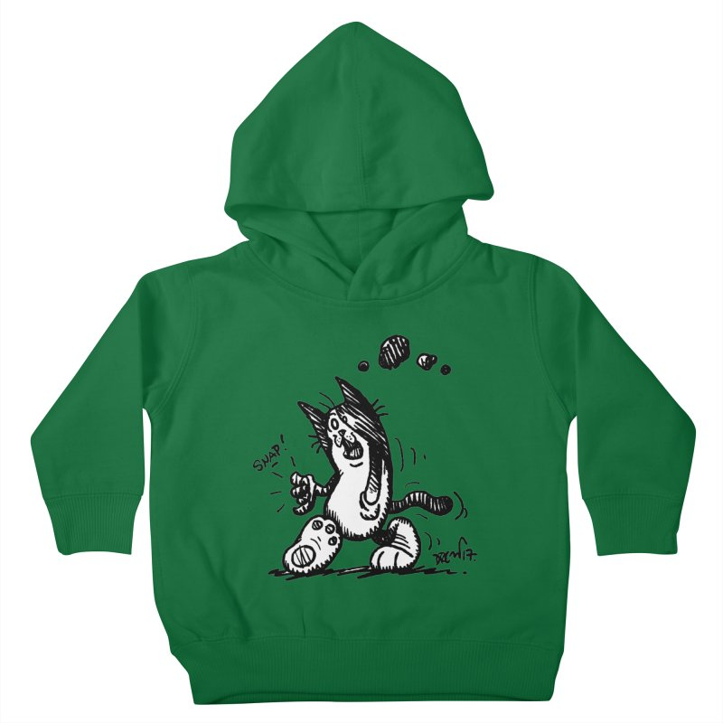 Snappy and Stylish Kids Toddler Pullover Hoody by Fuzzy Poet's Artist Shop