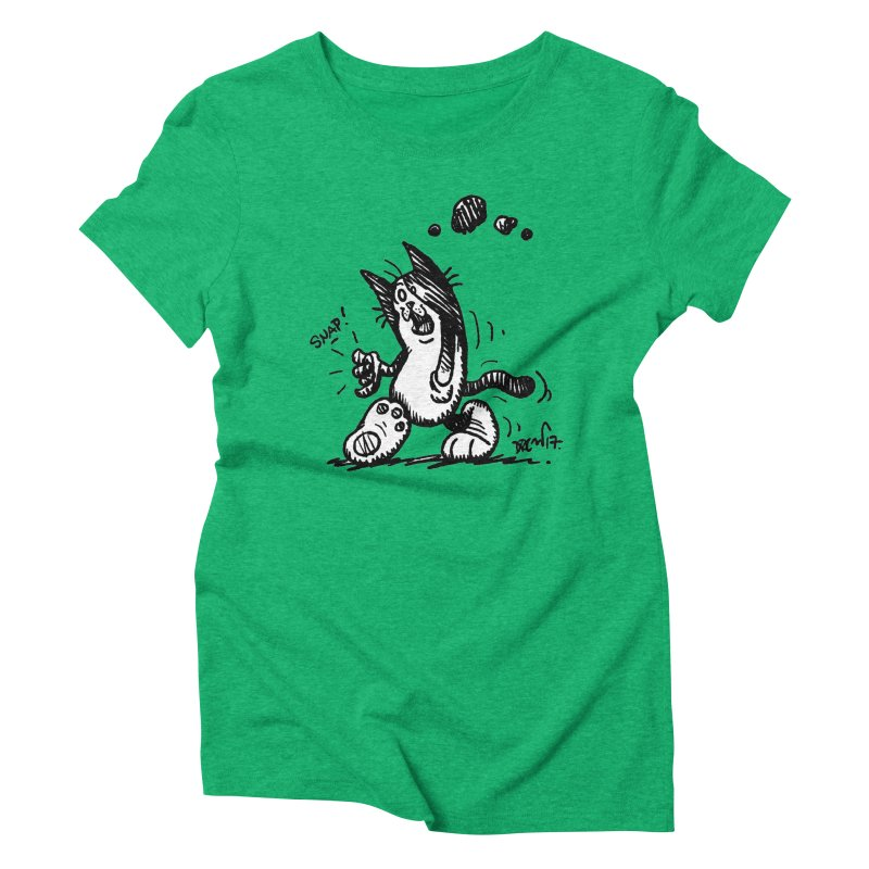 Snappy and Stylish Women's Triblend T-Shirt by Fuzzy Poet's Artist Shop