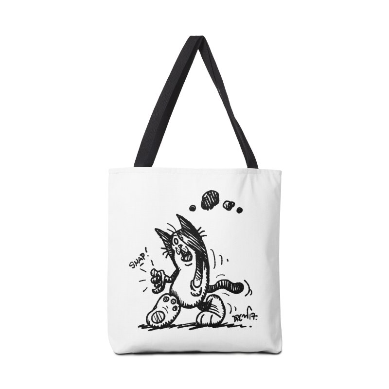 Snappy and Stylish Accessories Tote Bag Bag by Fuzzy Poet's Artist Shop