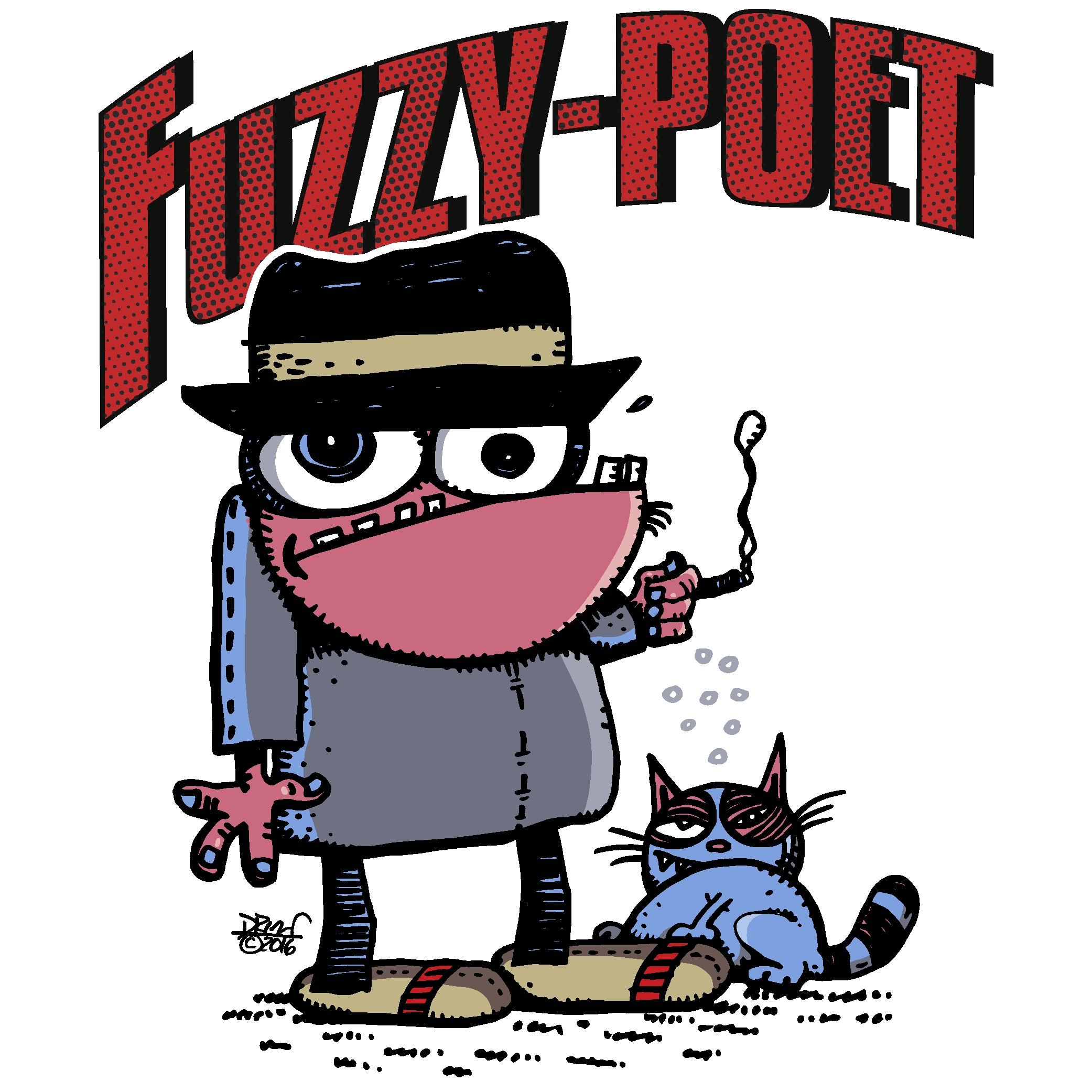 Fuzzy Poet's Artist Shop Logo
