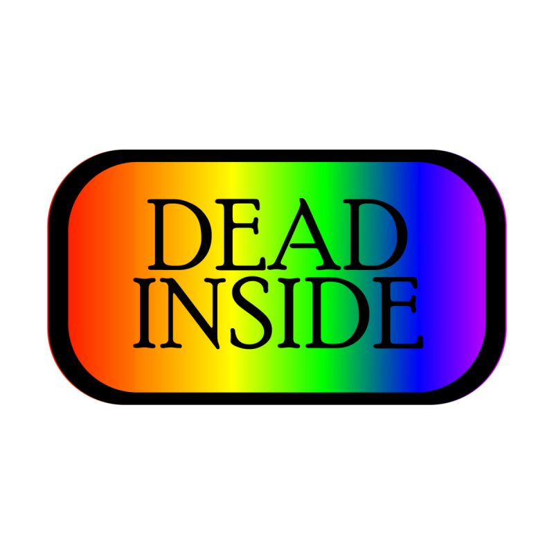 Dead Inside Men's T-Shirt by GCL's Merch Shop