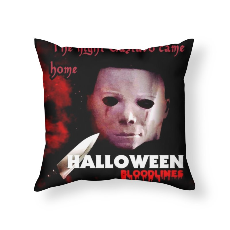 Gustavo as Michael Myers in Throw Pillow by GETBIT by FanGlorious  Artist Shop
