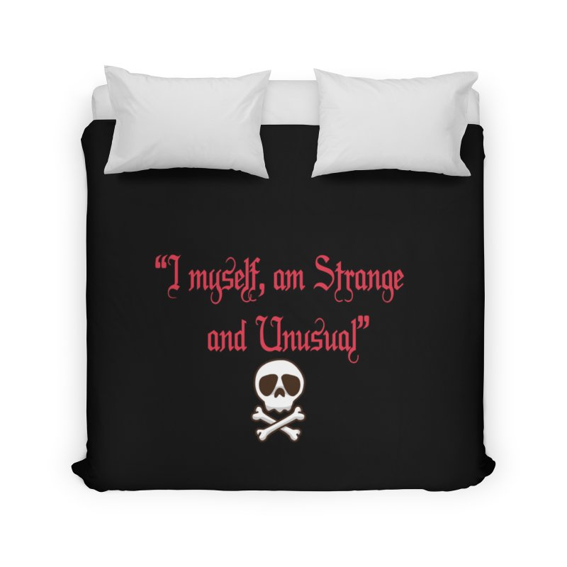 Strange and unusual in Duvet by GETBIT by FanGlorious  Artist Shop