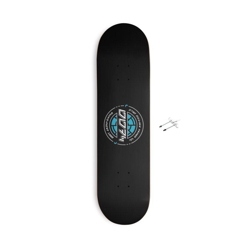 GGDC Batuu Accessories With Hanging Hardware Skateboard by Greg Gosline Design Co.