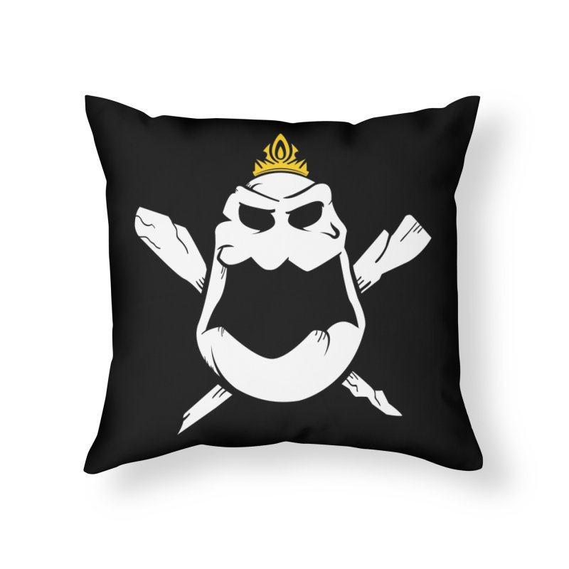 Royal Marsh Home Throw Pillow by Greg Gosline Design Co.