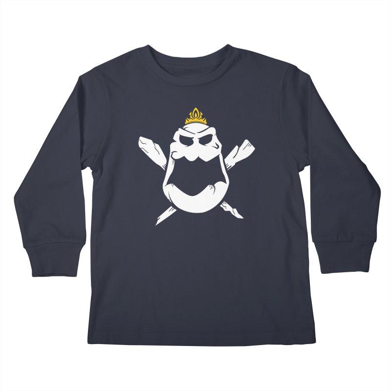 Royal Marsh Kids Longsleeve T-Shirt by Greg Gosline Design Co.
