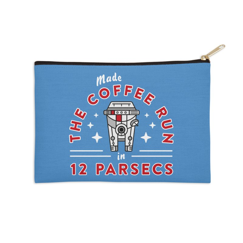Coffee Run Accessories Zip Pouch by Greg Gosline Design Co.