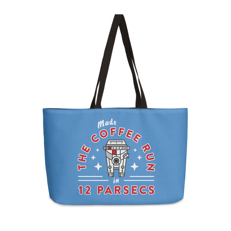 Coffee Run Accessories Weekender Bag Bag by Greg Gosline Design Co.