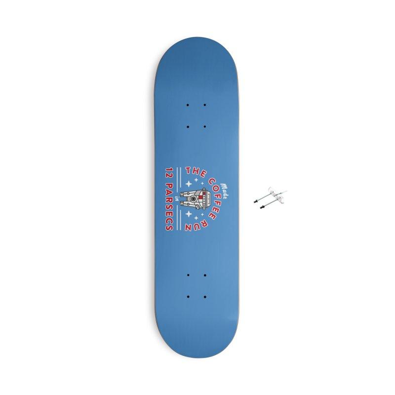 Coffee Run Accessories Skateboard by Greg Gosline Design Co.