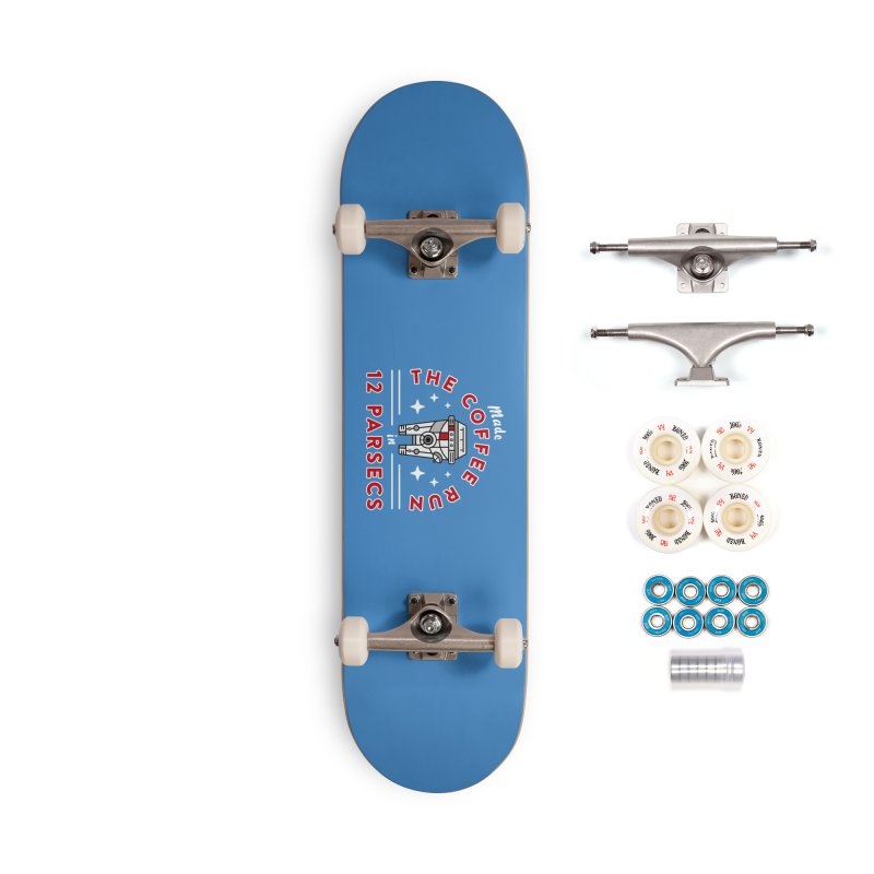 Coffee Run Accessories Complete - Premium Skateboard by Greg Gosline Design Co.
