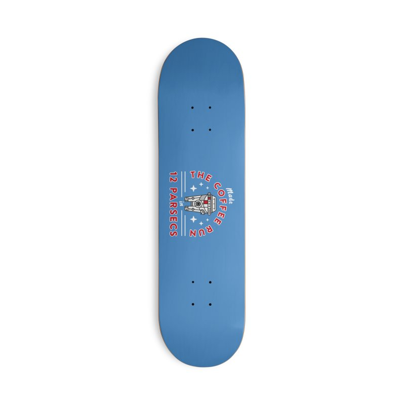 Coffee Run Accessories Deck Only Skateboard by Greg Gosline Design Co.