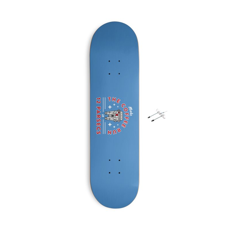 Coffee Run Accessories With Hanging Hardware Skateboard by Greg Gosline Design Co.