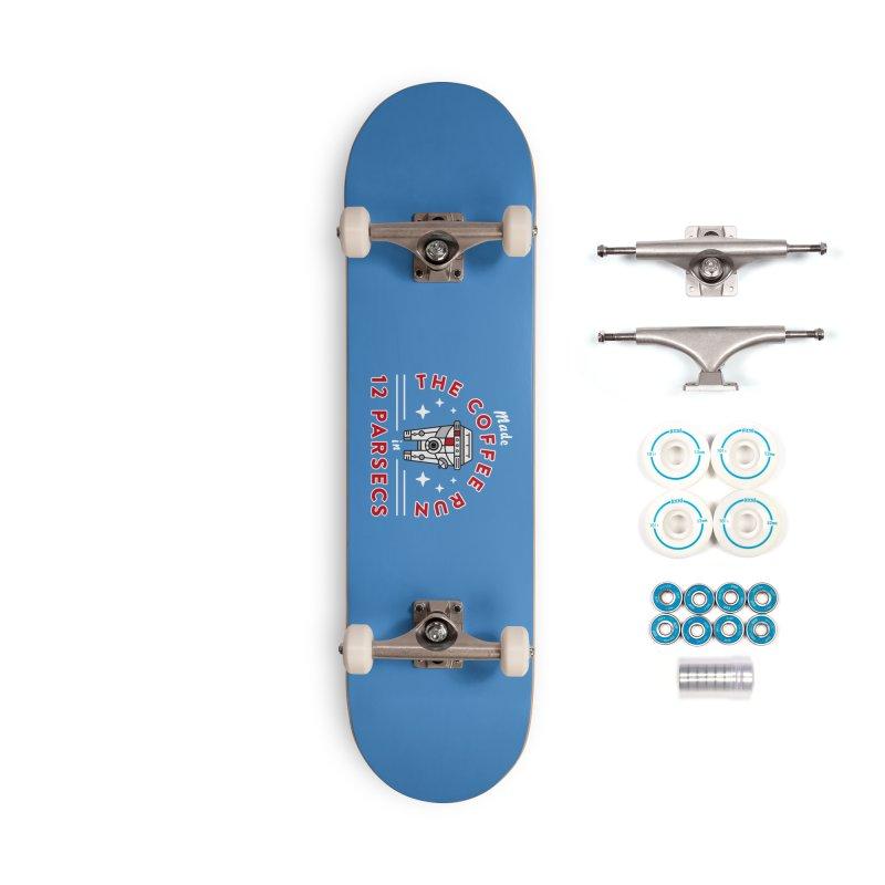 Coffee Run Accessories Complete - Basic Skateboard by Greg Gosline Design Co.