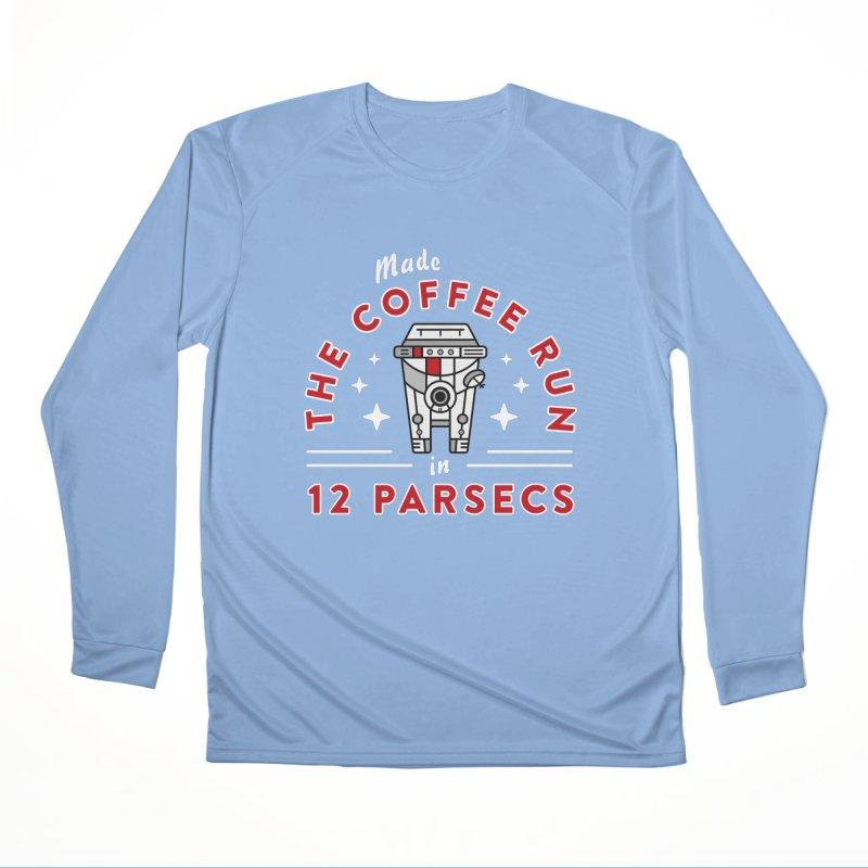 Coffee Run Women's Longsleeve T-Shirt by Greg Gosline Design Co.