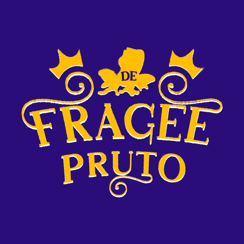 Fragee Pruto Women's V-Neck by Greg Gosline Design Co.