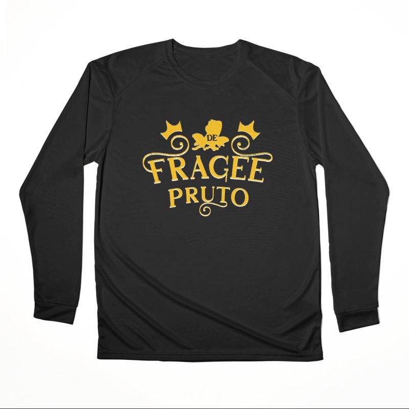 Fragee Pruto Women's Performance Unisex Longsleeve T-Shirt by Greg Gosline Design Co.