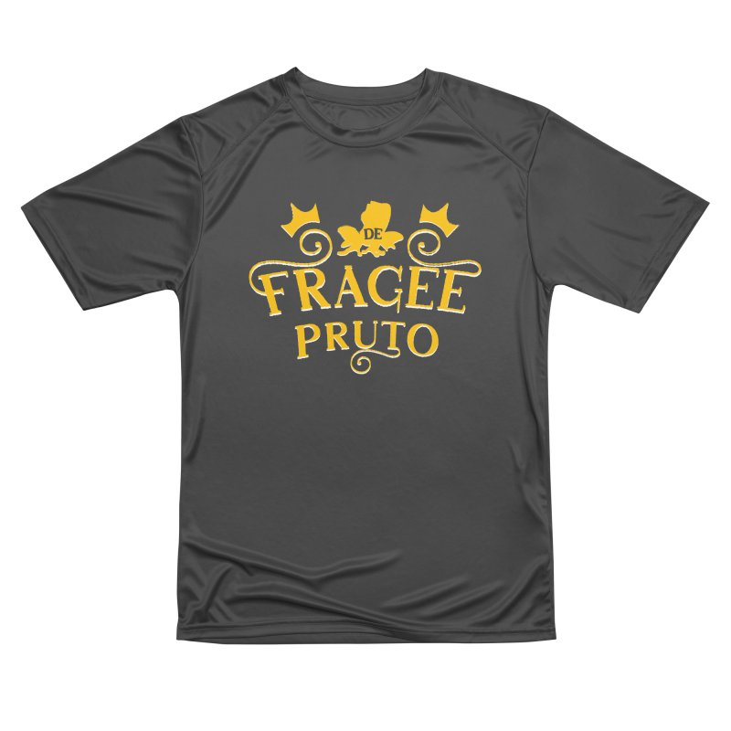 Fragee Pruto Men's Performance T-Shirt by Greg Gosline Design Co.