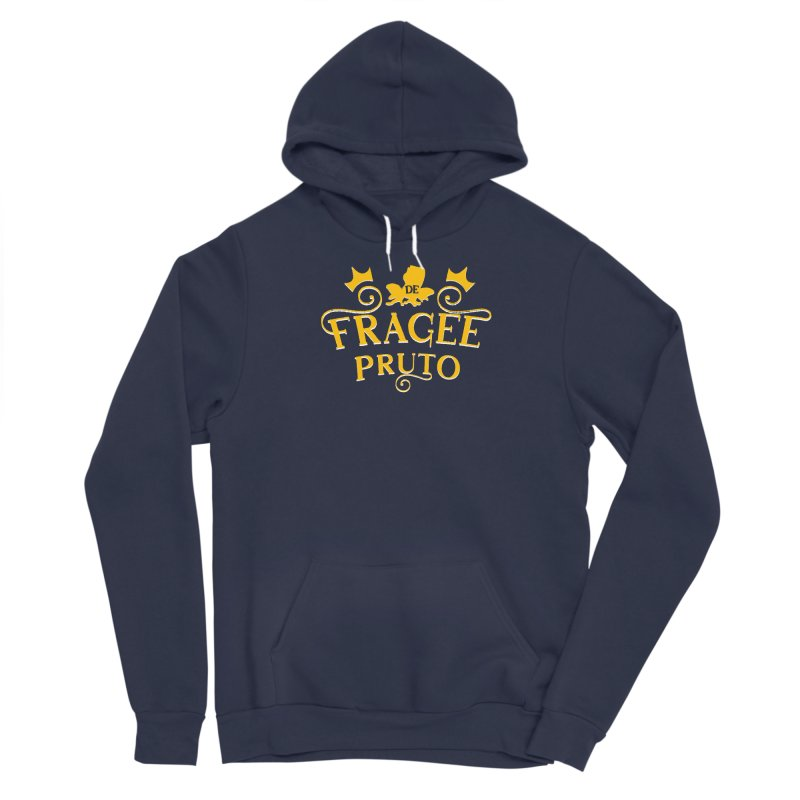 Fragee Pruto Men's Sponge Fleece Pullover Hoody by Greg Gosline Design Co.