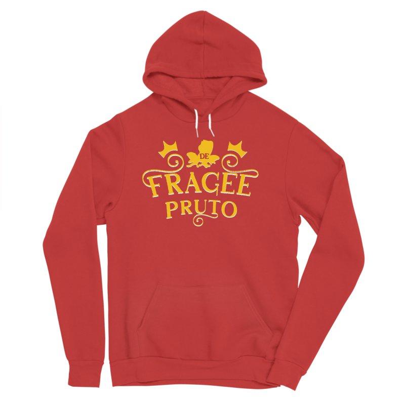 Fragee Pruto Men's Sponge Fleece Pullover Hoody by Greg Gosline Design Co.