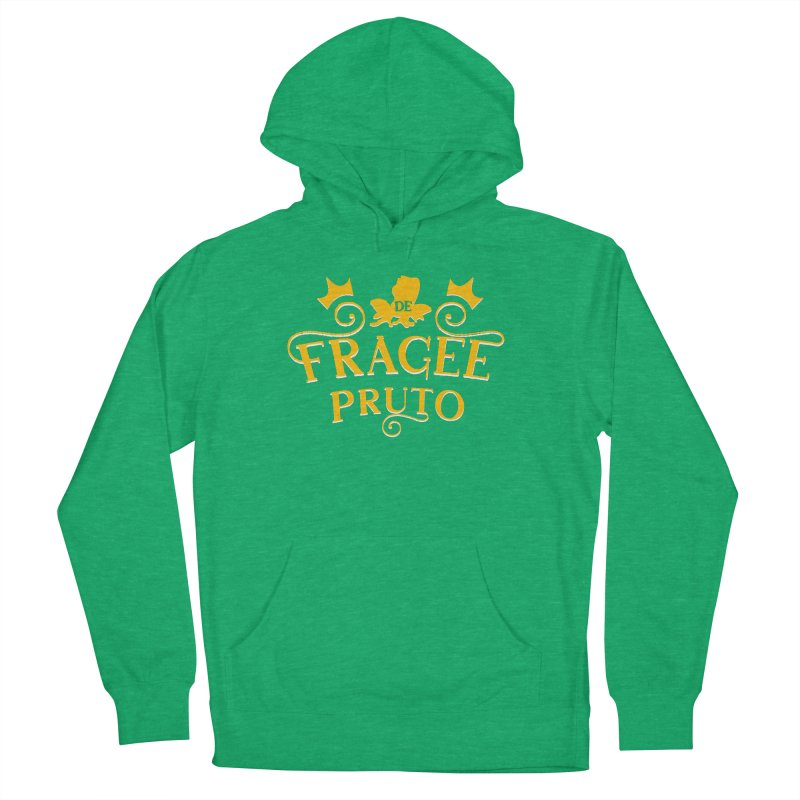 Fragee Pruto Women's French Terry Pullover Hoody by Greg Gosline Design Co.