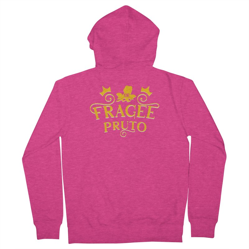 Fragee Pruto Women's French Terry Zip-Up Hoody by Greg Gosline Design Co.