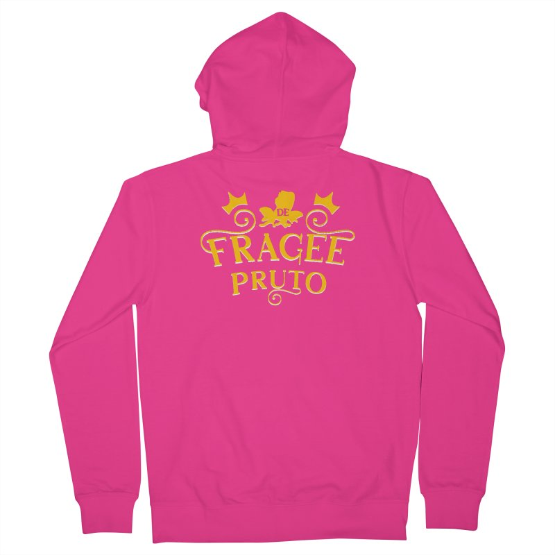 Fragee Pruto Men's French Terry Zip-Up Hoody by Greg Gosline Design Co.