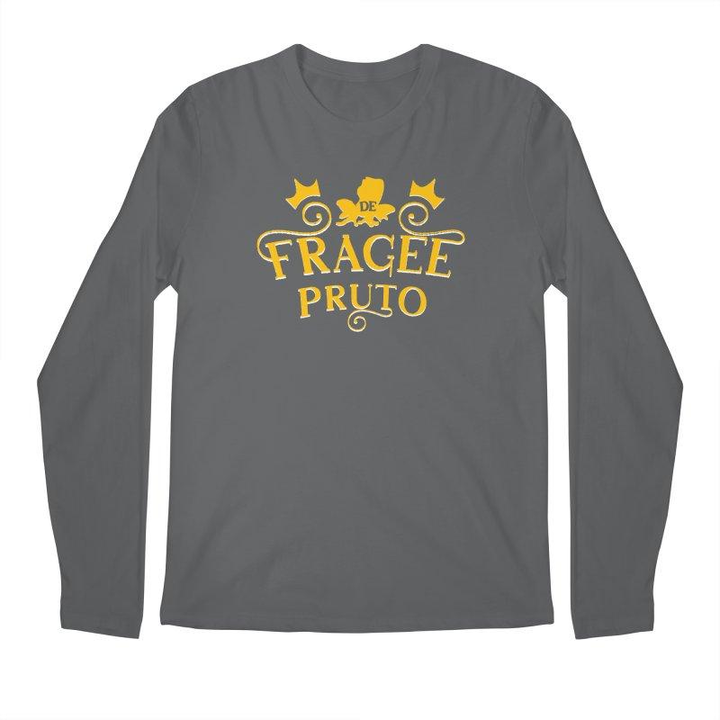 Fragee Pruto Men's Longsleeve T-Shirt by Greg Gosline Design Co.