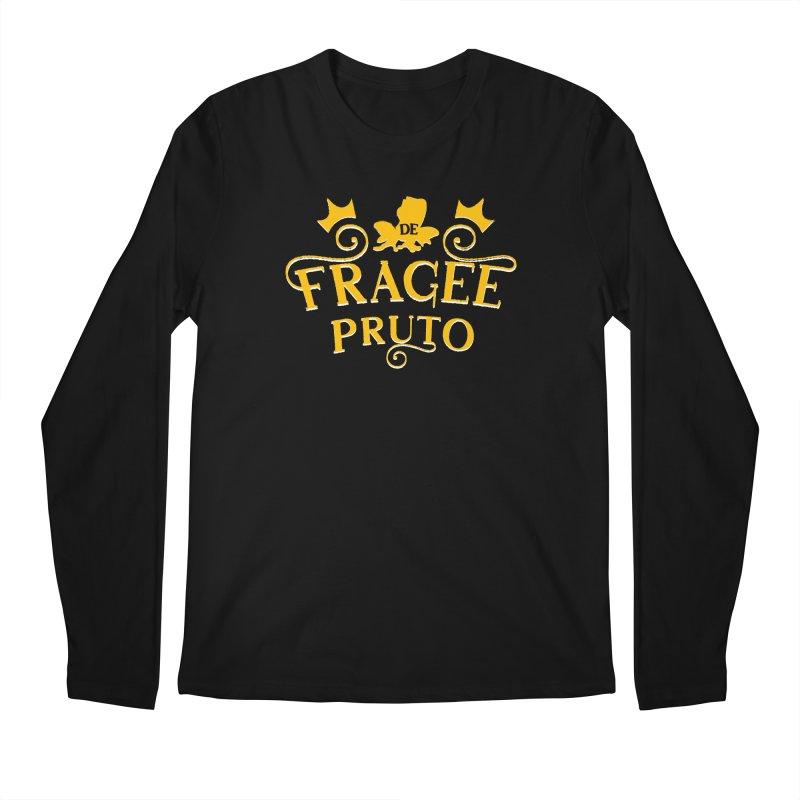 Fragee Pruto Men's Regular Longsleeve T-Shirt by Greg Gosline Design Co.