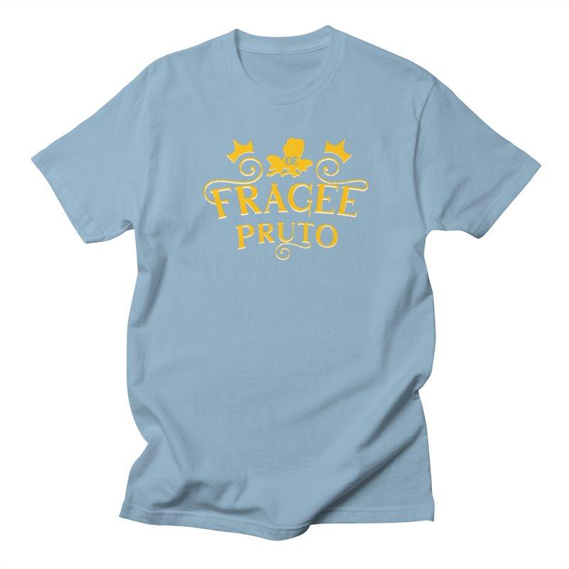 Fragee Pruto Men's Regular T-Shirt by Greg Gosline Design Co.