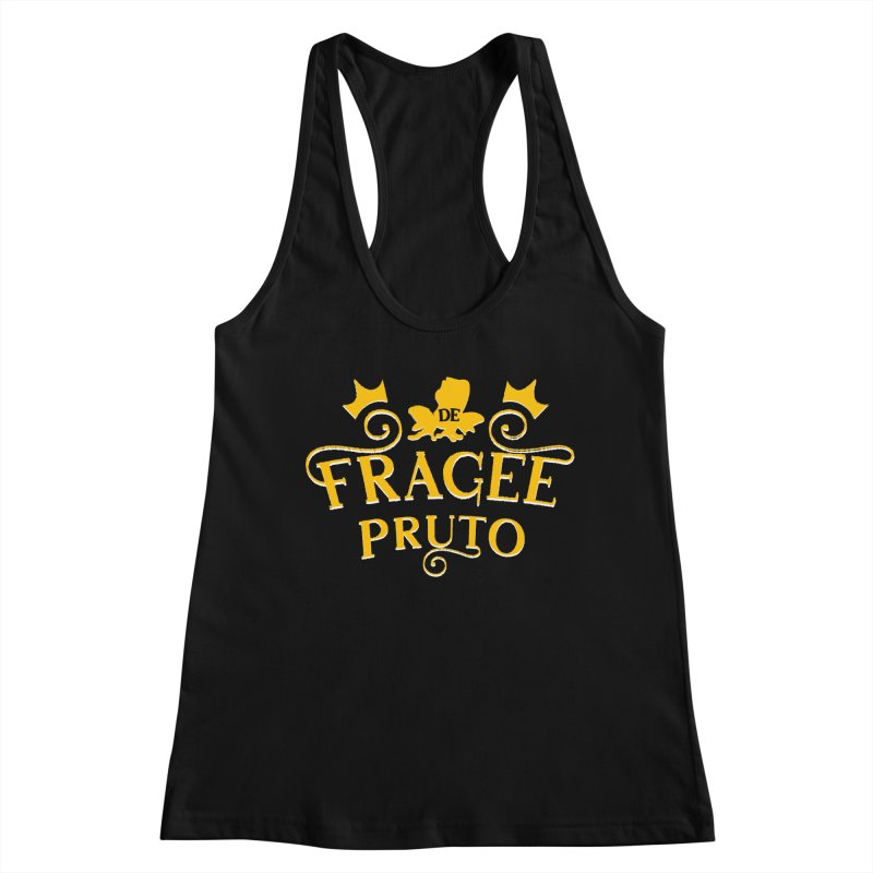 Fragee Pruto Women's Racerback Tank by Greg Gosline Design Co.