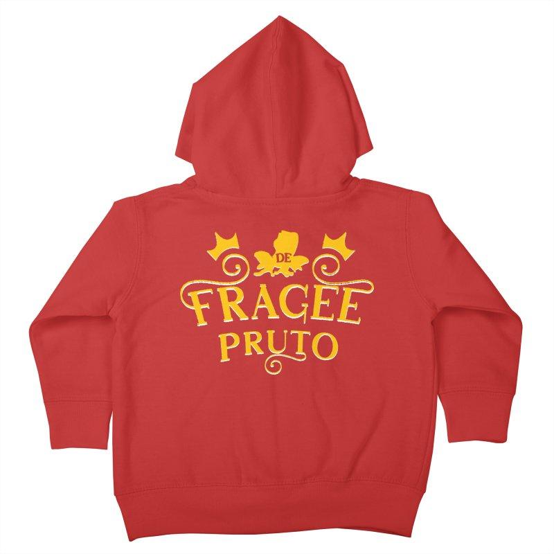 Fragee Pruto Kids Toddler Zip-Up Hoody by Greg Gosline Design Co.