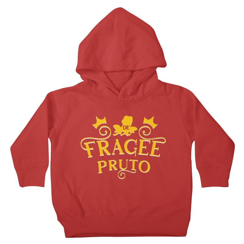 Fragee Pruto Kids Toddler Pullover Hoody by Greg Gosline Design Co.