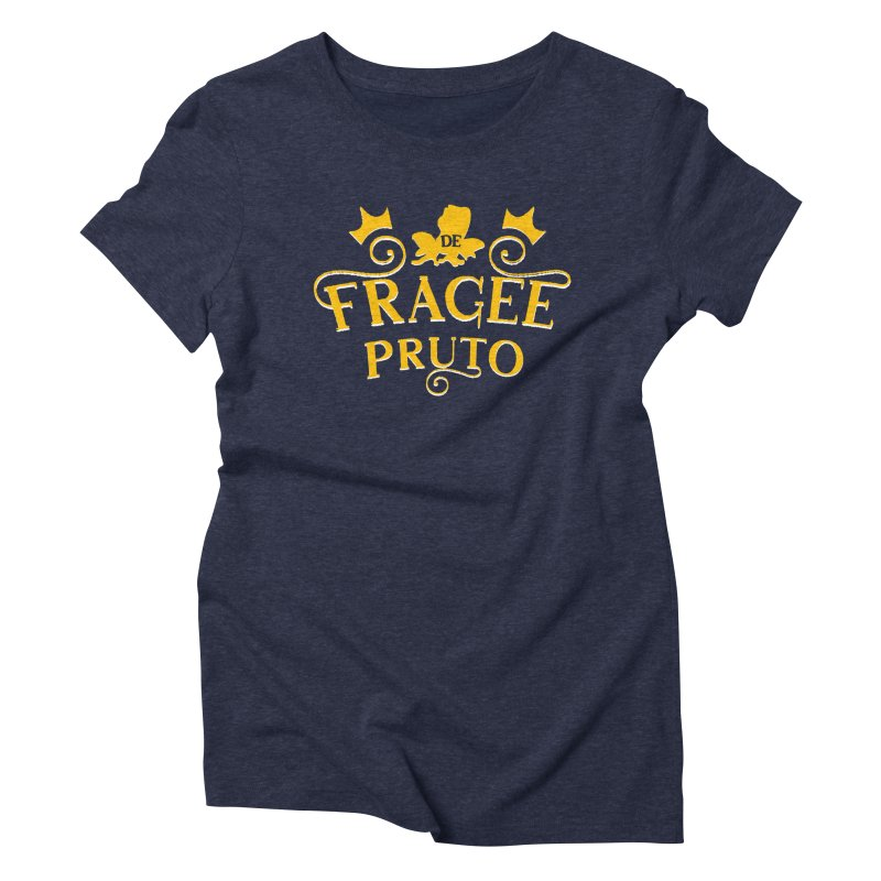 Fragee Pruto Women's Triblend T-Shirt by Greg Gosline Design Co.