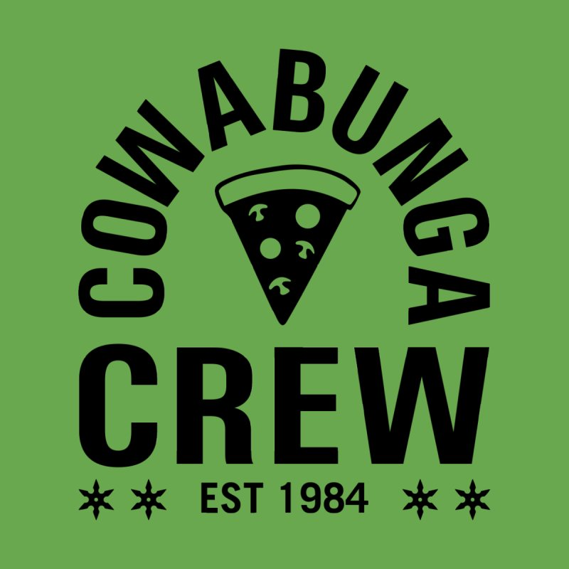 Cowabunga Crew Women's Scoop Neck by Greg Gosline Design Co.