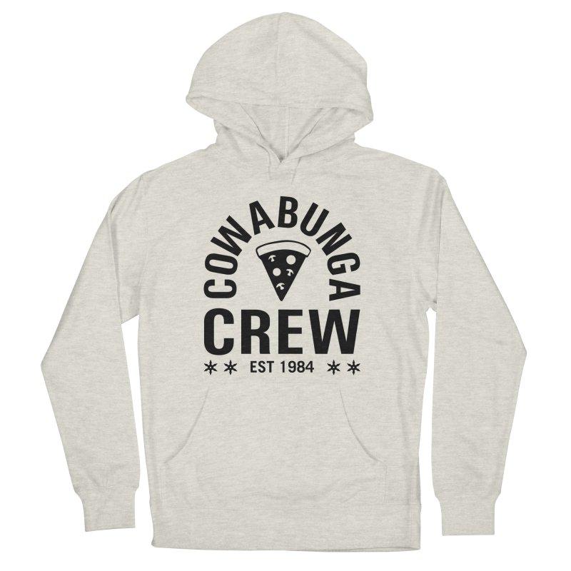 Cowabunga Crew Men's French Terry Pullover Hoody by Greg Gosline Design Co.