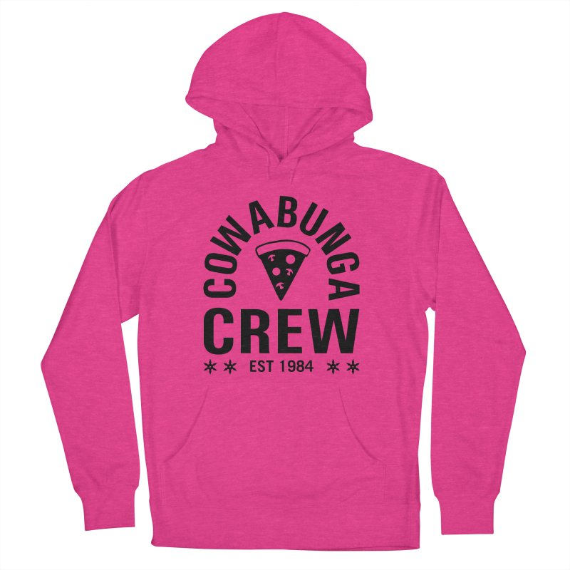 Cowabunga Crew Men's French Terry Pullover Hoody by Greg Gosline Design Co.